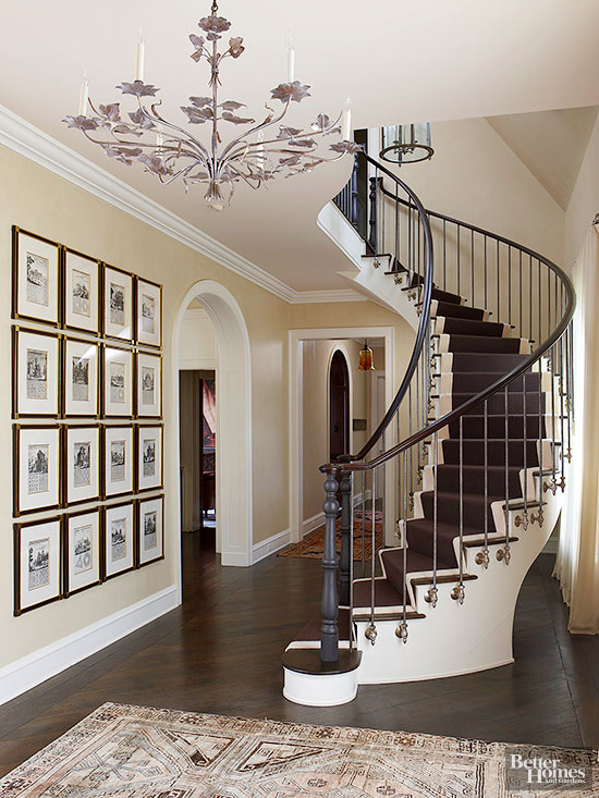 Stairway Railing Ideas Better Homes Amp Gardens