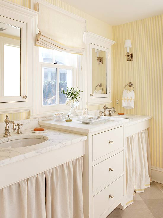 Yellow Bathroom Decorating Design Ideas Better Homes Gardens