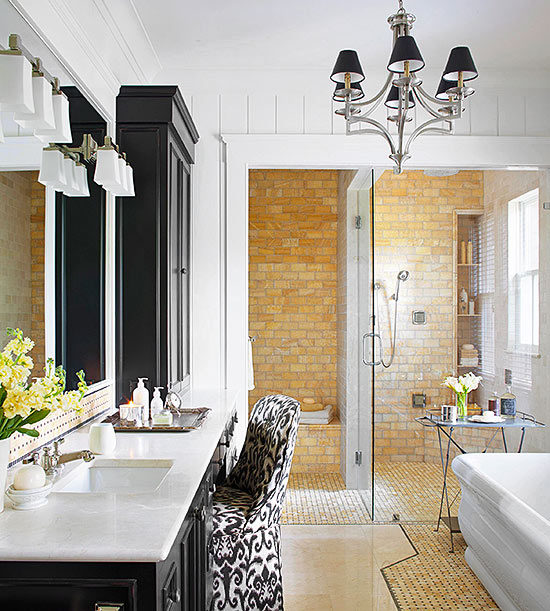 31 Beautiful Recessed Lighting Over Bathroom Vanity: Bathroom Lighting Ideas