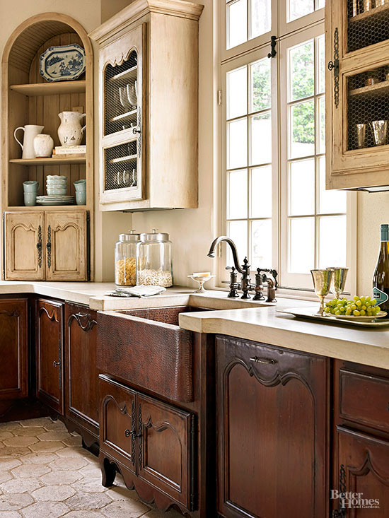 Country French Kitchen | Better Homes & Gardens