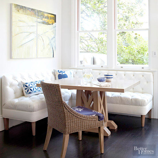 Freestanding Banquette