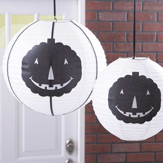 Pumpkin Paper Lanterns