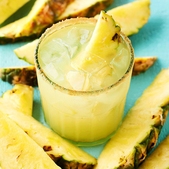 Pineapple-Cinnamon Margaritas