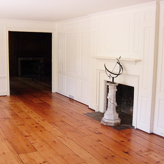 Before: Bare and Basic Fireplace