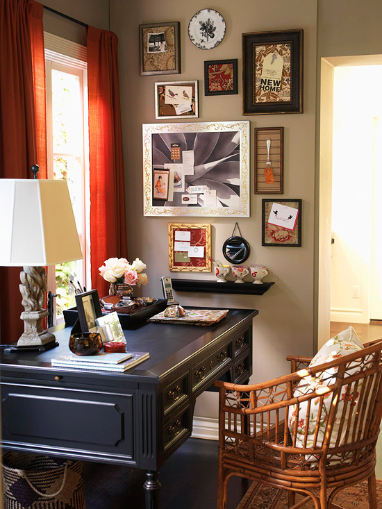 Recipe for a Vintage Home Office