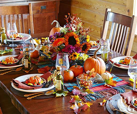 Decorate with Harvest Finds