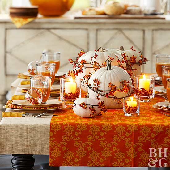 Fall Table Decorations Ideas: Better Homes & Gardens