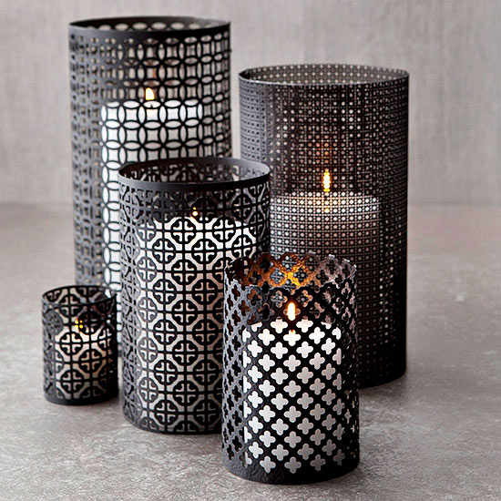 Aluminum Candle Holders