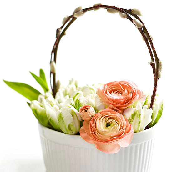 Pretty Basket Centerpiece