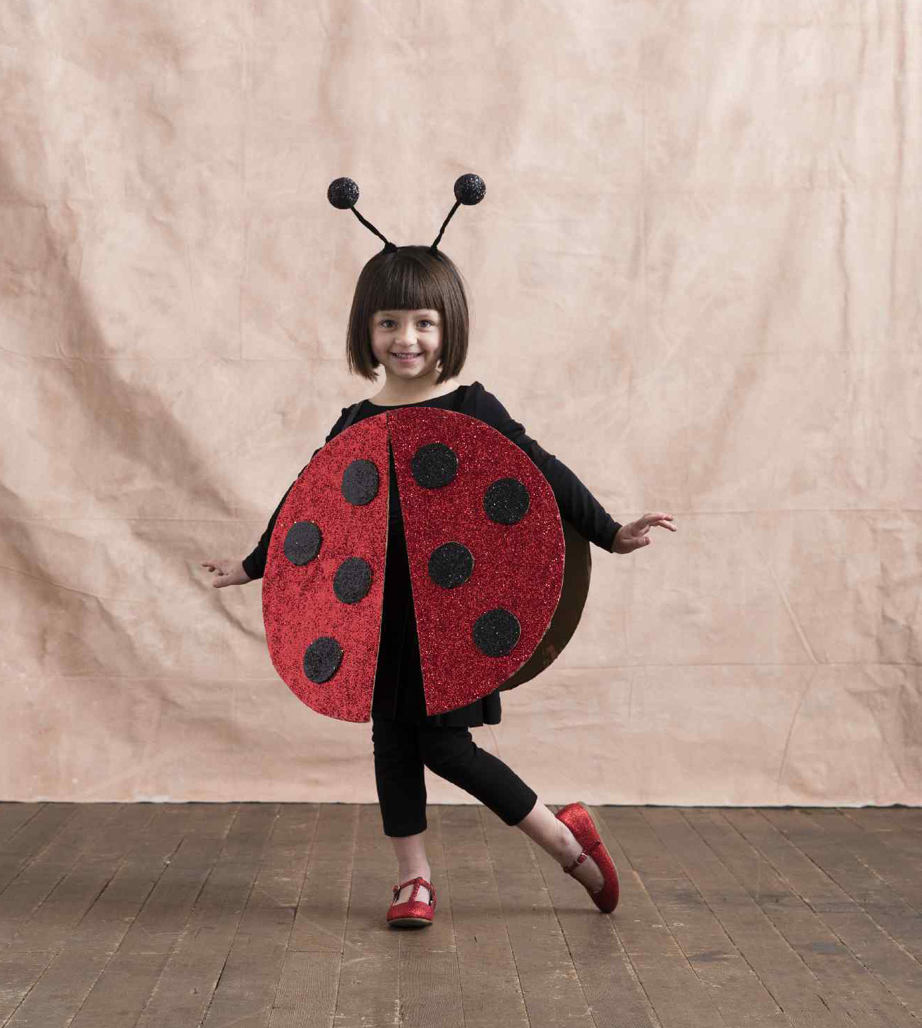 Make this Easy DIY Ladybug Costume