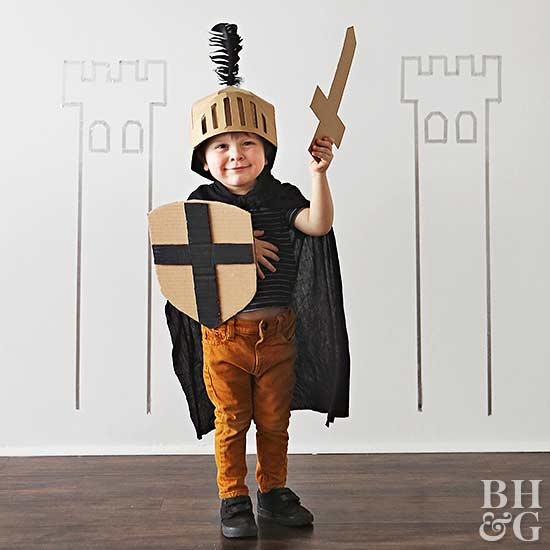 Easy To Make Kids Halloween Costumes