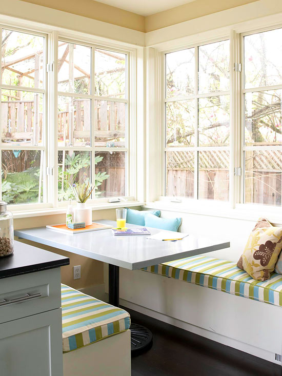 Sun-Drenched Breakfast Nook