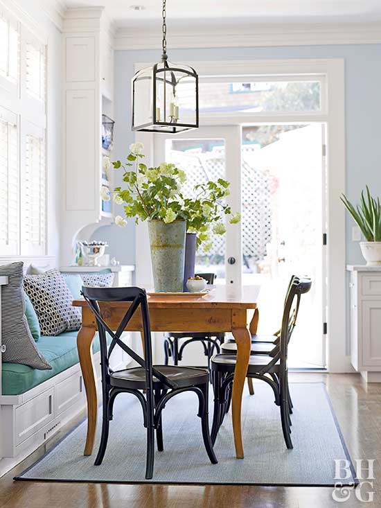 Built In Banquette Ideas Better Homes Amp Gardens