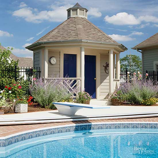 Mansion Pools Close Up: Pavilion And Pool House Ideas