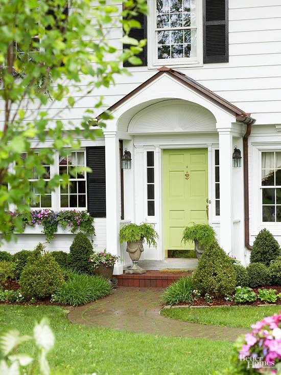 Fresh, Traditional Front Doors