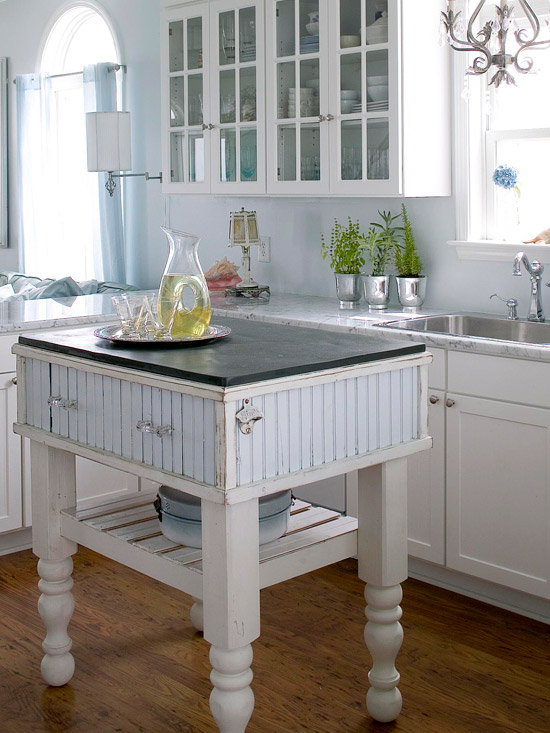 Small Kitchen Islands Better Homes Gardens