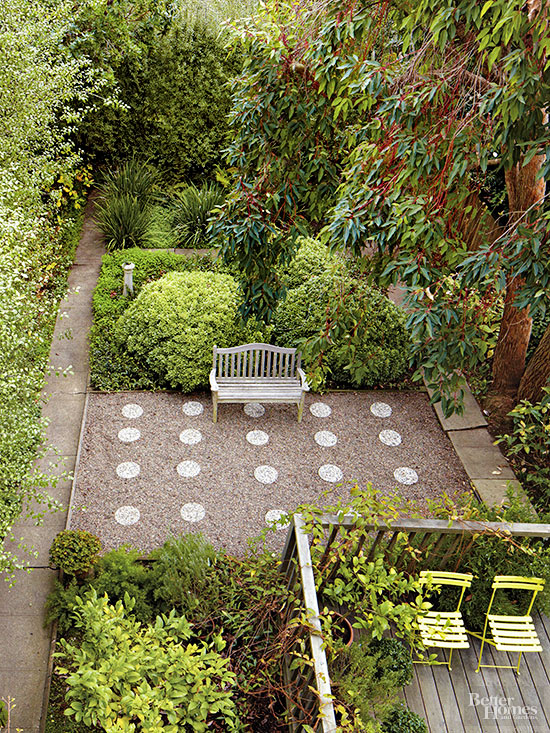 Yards With No Grass | Better Homes & Gardens on Small Backyard Ideas No Grass  id=14685