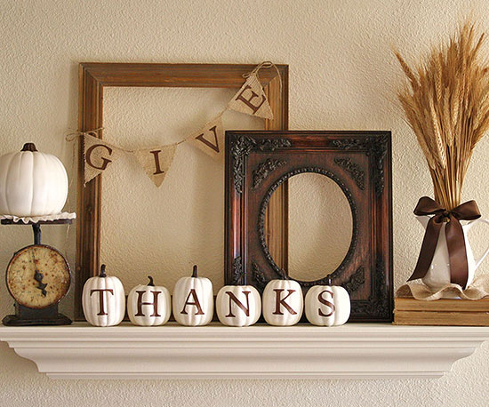 Give Thanks Mantel