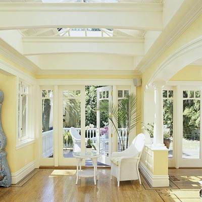 Skylights and French Doors