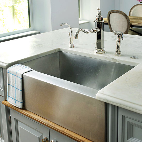 Kitchen Sinks Farmhouse Sink Ideas Better Homes Gardens