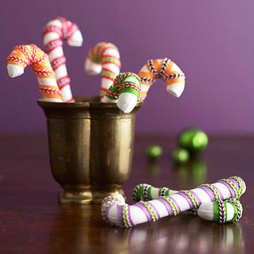 Sweet Ribbon Candy Canes