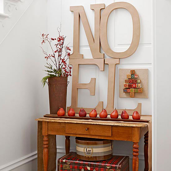Entry: Welcome Holiday Guests with a Message