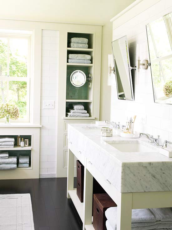 pale green bathroom marble vanity