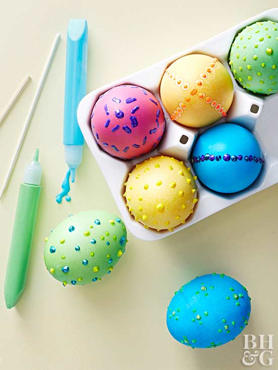 43 Creative Ways To Dye Easter Eggs Better Homes Gardens