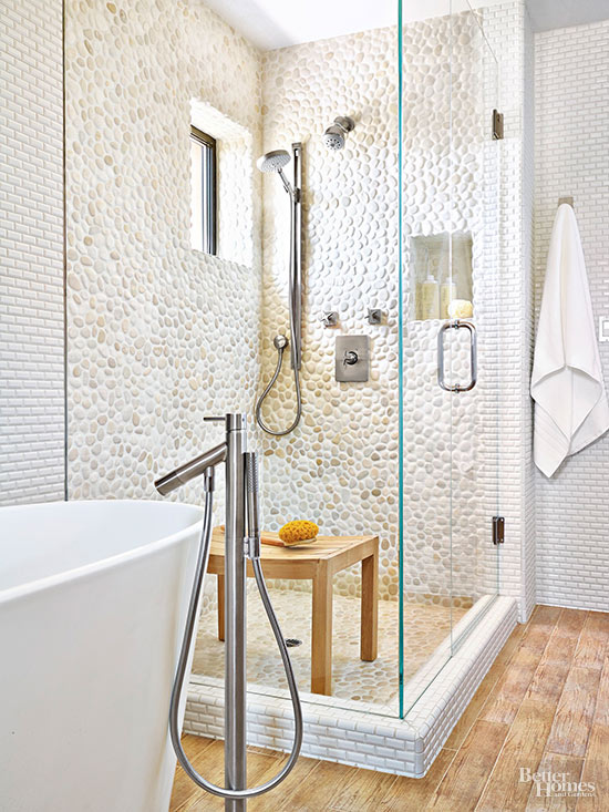 Tile Shower and Tub