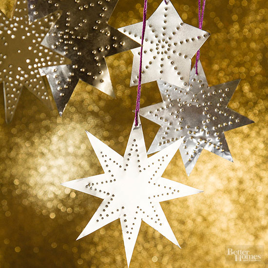 Shining Star Christmas Ornament