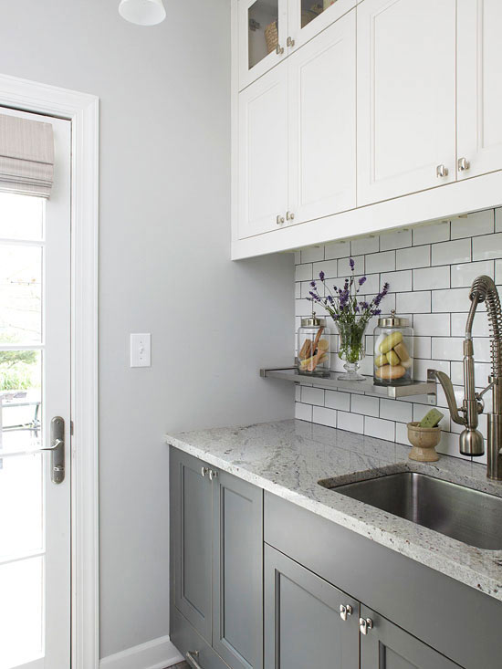 Laundry Room Cabinetry Ideas | Better Homes & Gardens on Laundry Room Cabinets Ideas  id=22328
