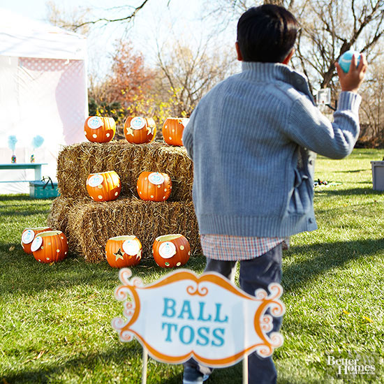 Pumpkin Ball Toss