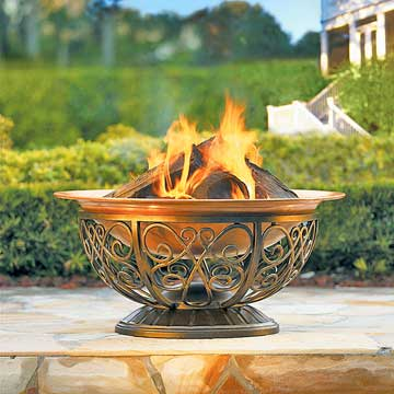 Outdoor Fire Pit Picks Open Grills Fire Pits And Chimineas