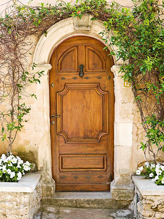 Worldly Influence Front Doors Better Homes Amp Gardens
