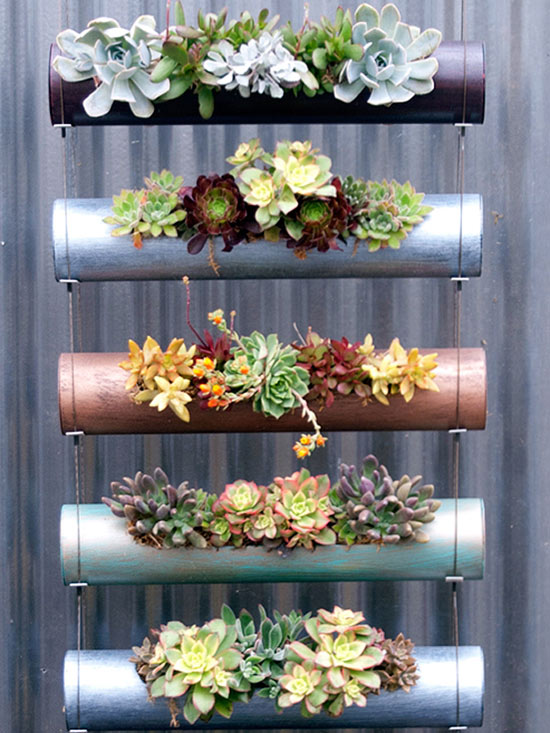 Indoor/Outdoor Modular Cylinder Planters