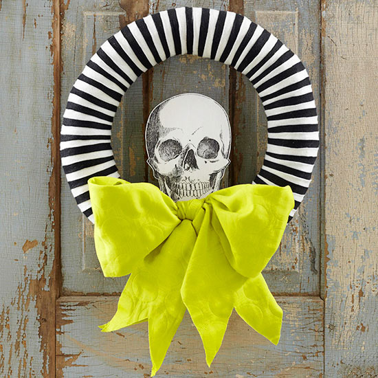 Skeleton Wreath