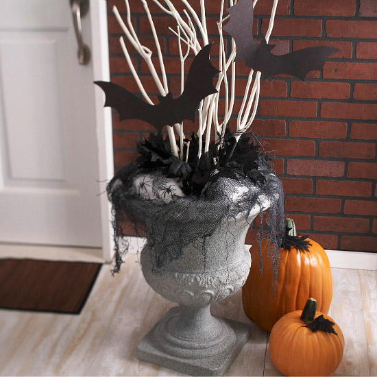 Halloween Urn Display