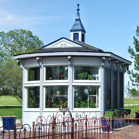 Victorian-Style Garden Shed