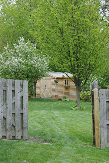 Well-Placed Shed