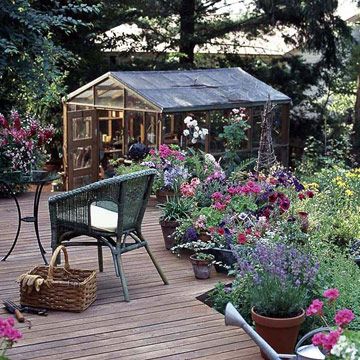 Greenhouse-Inspired Outdoor Structure