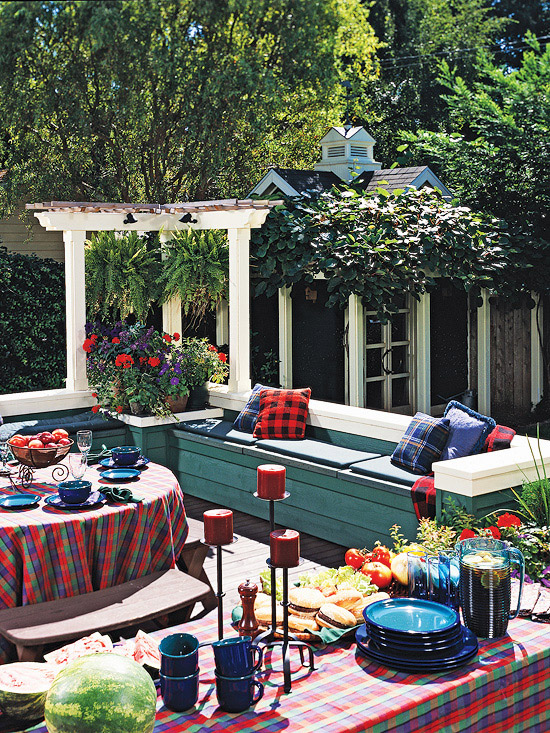 Outdoor Kitchen Seating