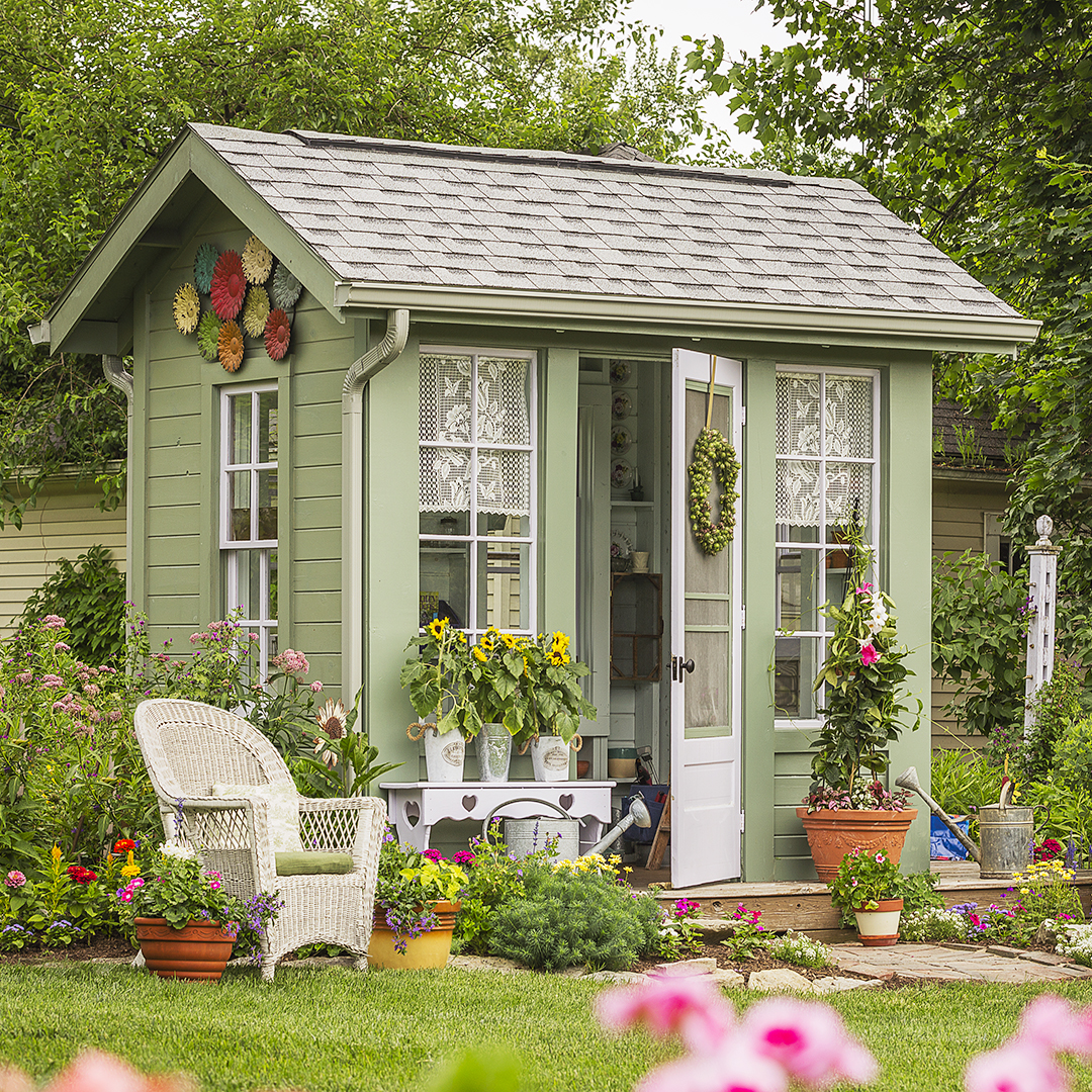 A Gallery Of Garden Shed Ideas Better Homes Amp Gardens