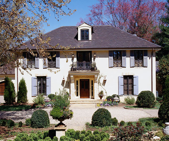 Country French Style Home Ideas Better Homes Gardens