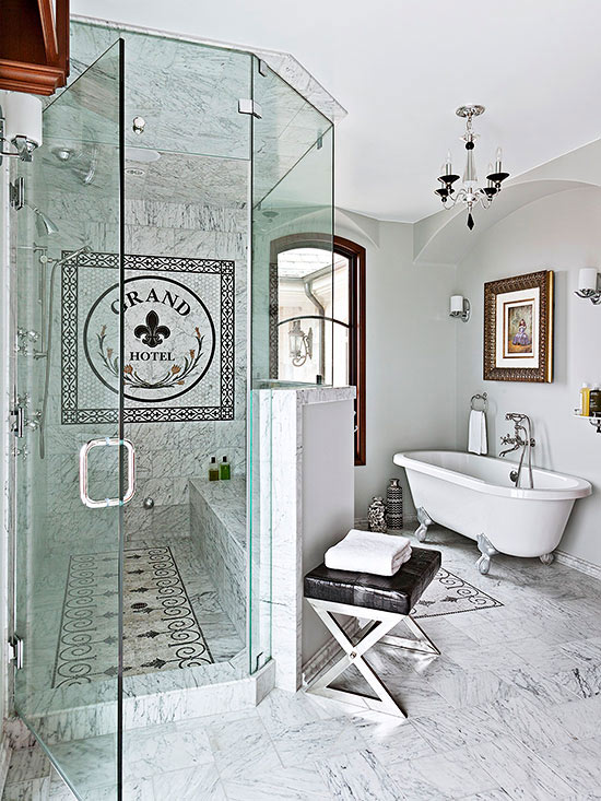 Seating For Walk In Showers Better Homes Amp Gardens