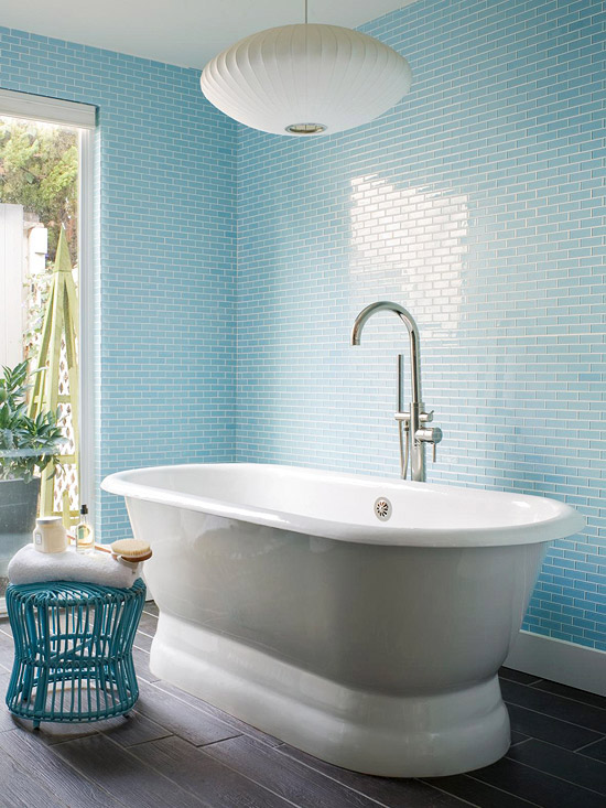 Blue Bathroom Design Ideas Better Homes Gardens