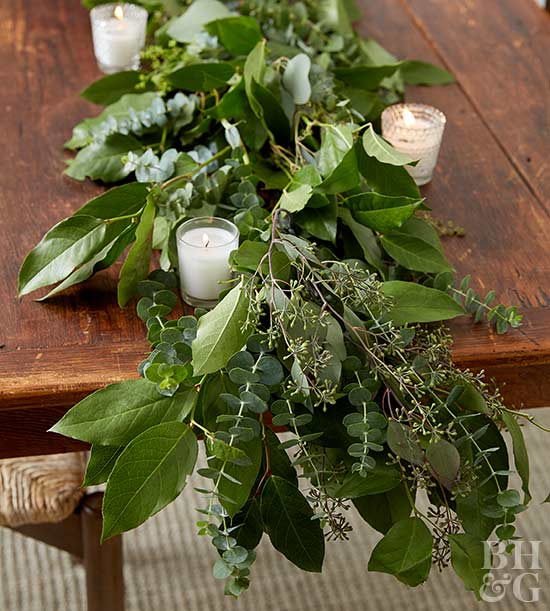Greenery Garland How To Better Homes Amp Gardens