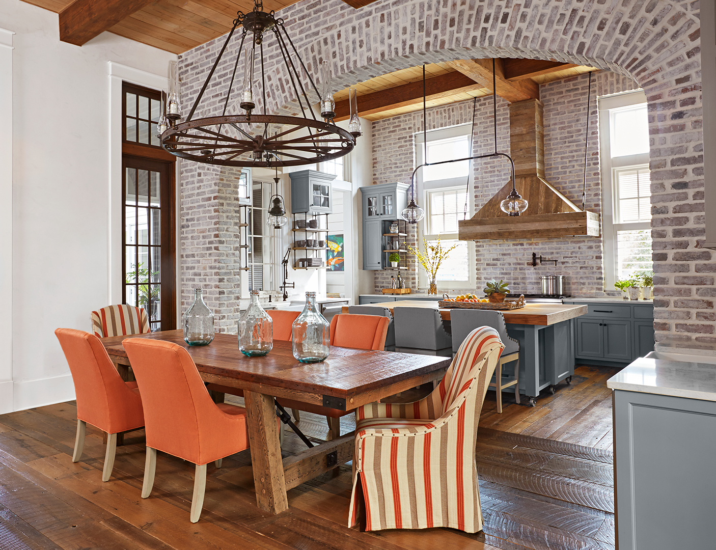 Home Architec Ideas Navy And Copper Kitchen Ideas