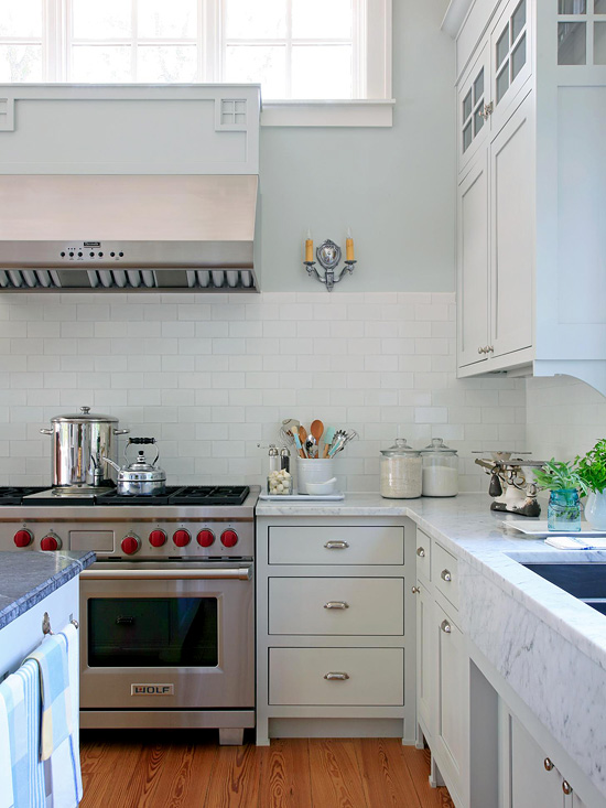Aging Gracefully: Cooking Area