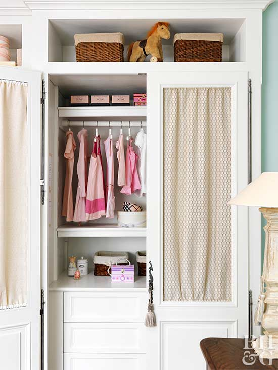 Organize Your Child's Closet With These KidFriendly Ideas Cool Small Bedroom Closet Organization Ideas Concept Remodelling