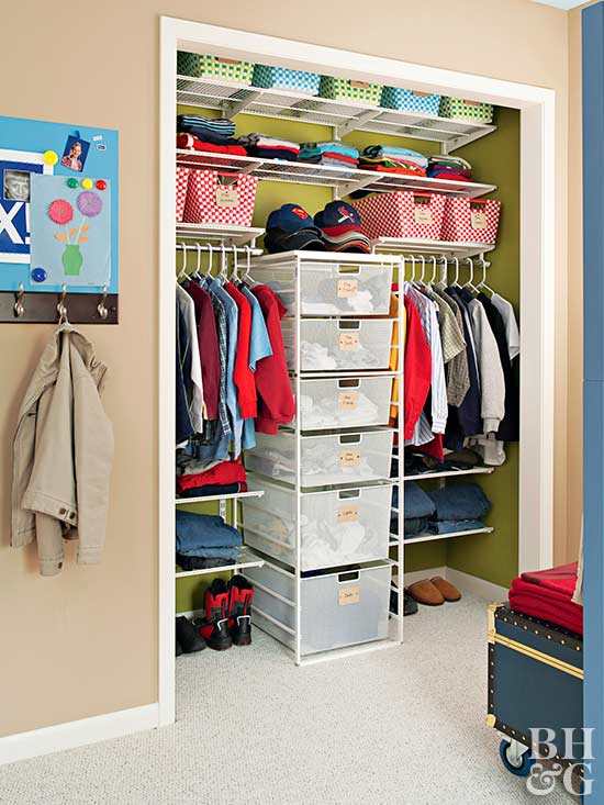 Middle Drawer Tower In Closet